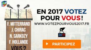 Votez pour vous !